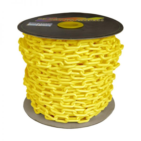 poly-link chain - yellow