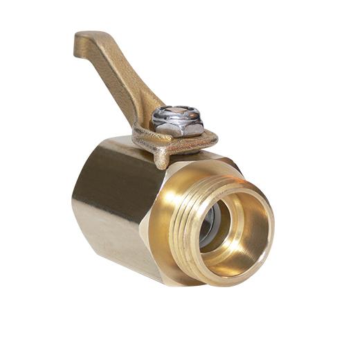 underhill high flow valve - brass