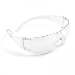 3M secure fit 200 safety glasses - grey
