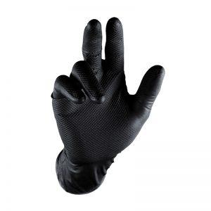 Grippaz black gloves