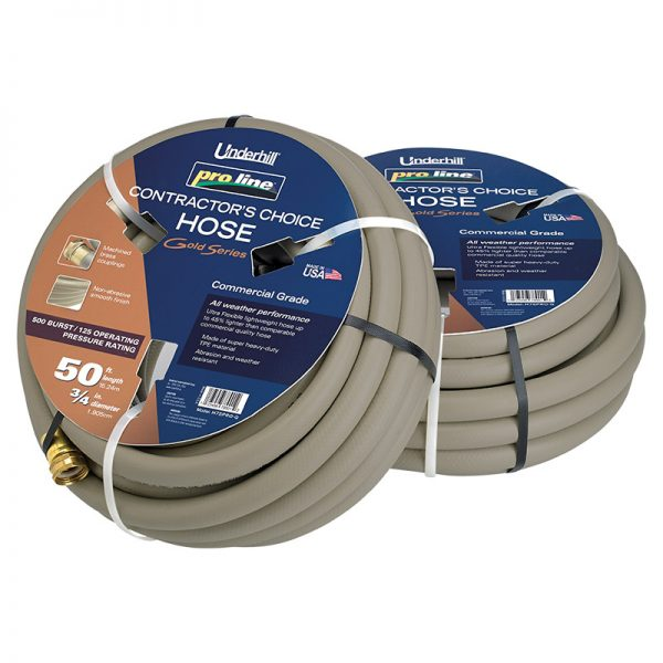 Underhill Pro line gold series hose